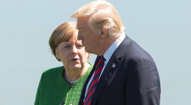 Trump Almanyayı hedef aldı
