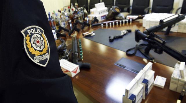 Ankarada 200 adrese uyuşturucu baskını