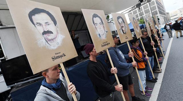 Almanyada NSU davası kararı protesto edildi