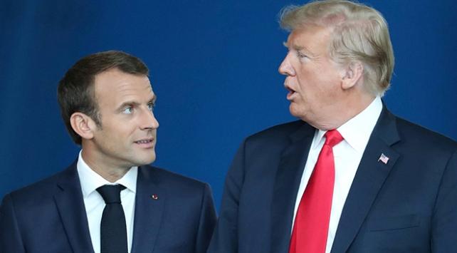 Macron Trumpın anlaşma iddiasını yalanladı