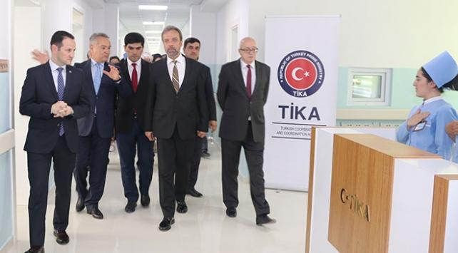 TİKAdan Tacikistana sağlık desteği