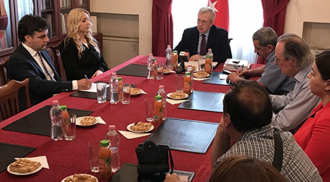 Macaristanda basına FETÖ bilgilendirme toplantısı