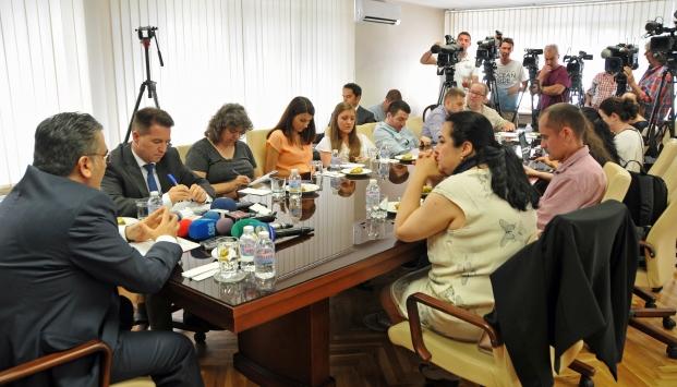 Bulgaristanda basına FETÖ bilgilendirme toplantısı
