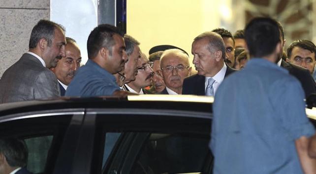 Cumhurbaşkanı Recep Tayyip Erdoğan Ankaraya geldi