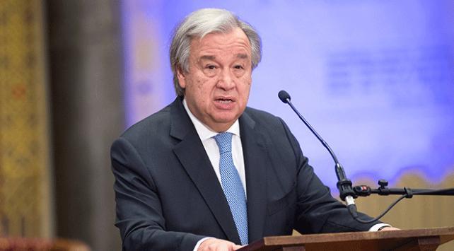 BM Genel Sekreteri Guterres: Suriyenin yeniden inşasını siyasi çözüm sağlar