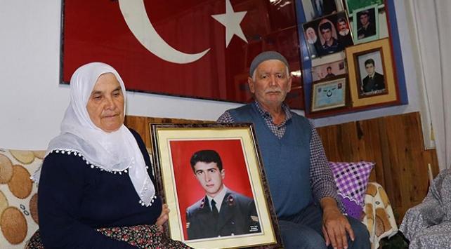 Oğullarını şehit eden teröristin ölüm haberini 20 yıl sonra aldılar