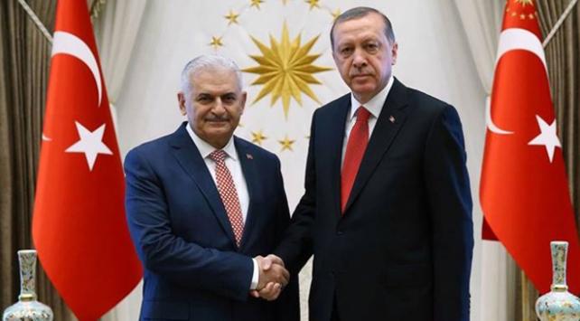 Cumhurbaşkanı Erdoğan TBMM Başkanı seçilen Yıldırımı tebrik etti