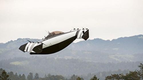 Pilot lisansı gerektirmeyen uçan arabanın deneme sürüşü tamamlandı