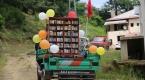 """""""Pat pat"""" ile köylerdeki çocuklara kitap taşıyorlar"""