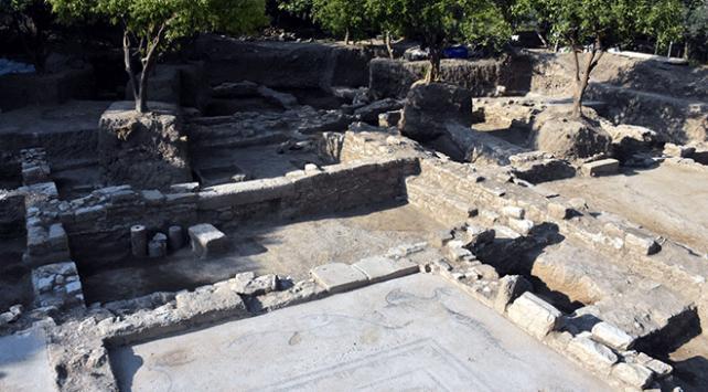 Muğlada inşaat kazısından antik döneme ait balıkçı evi çıktı
