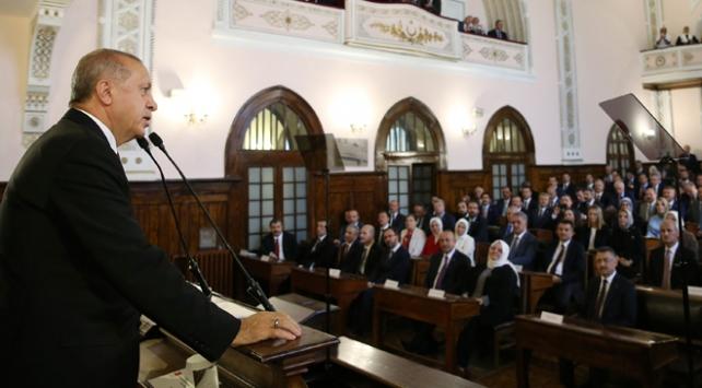 Cumhurbaşkanı Erdoğan: Milli iradenin üzerinde hiçbir fani güç tanımıyoruz