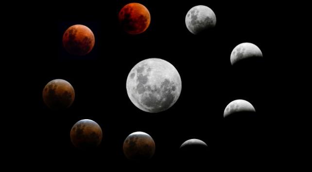 Yüzyılın en uzun 'Kanlı Ay' tutulması 27 Temmuz'da