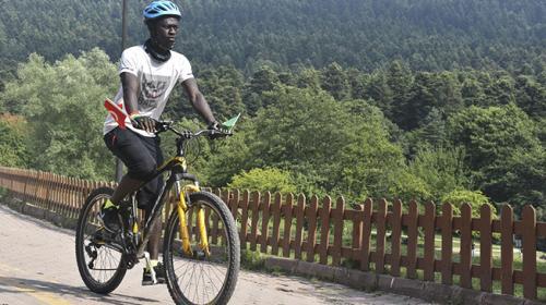 Bisikletle Türkiyeyi dolaşarak Afrikayı anlatacak
