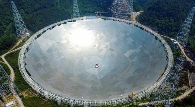 Çinin FAST teleskobu 43 atarca yıldız keşfetti