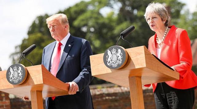 ABD Başkanı Trump: May haberleri yalan