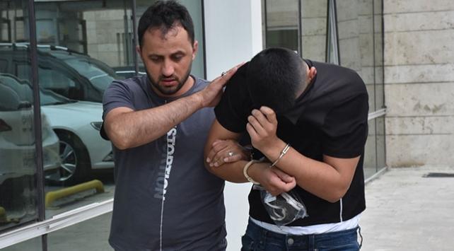 """Samsunda """"torbacı"""" operasyonu: 2 tutuklama"""