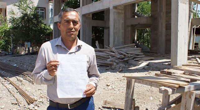 """İnşaat işçisi Yusuf Çıtaktan """"15 Temmuz"""" şiiri"""