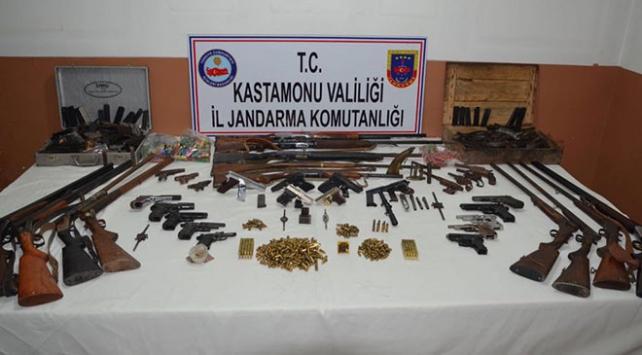 Kastamonu merkezli silah kaçakçılığı operasyonu