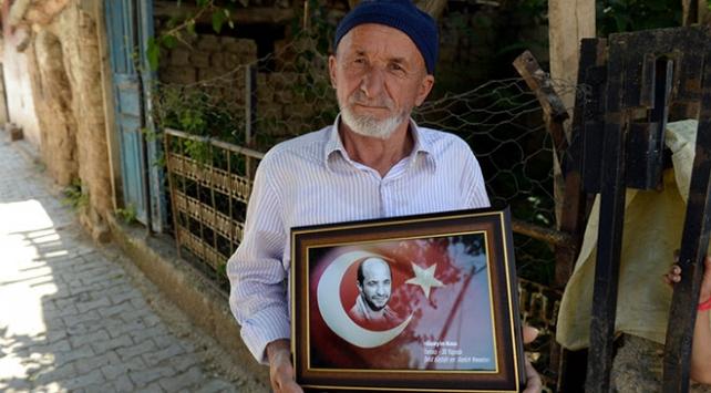 Şehit Hüseyin Kısanın babası: Her gece yattığımda oğlum gözümün önüne geliyor