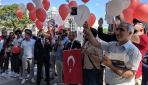 Türkiyeden kilometrelerce uzakta şehitler unutulmadı