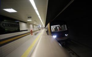 Sürücüsüz metronun test sürüşleri devam ediyor