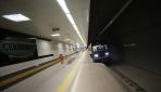Sürücüsüz metronun ikinci etabında test sürüşleri sürüyor