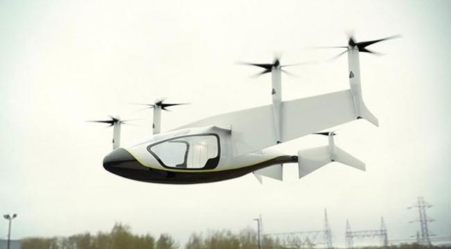 Lüks uçan taksiler 2020de göklerde olacak