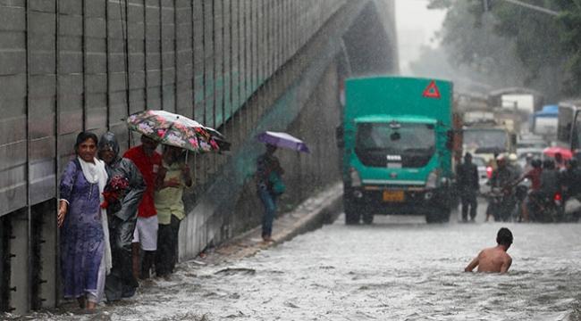 Hindistanda muson yağmurları 40 can aldı