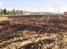 Konya Seydişehir'de buğday tarlası yandı