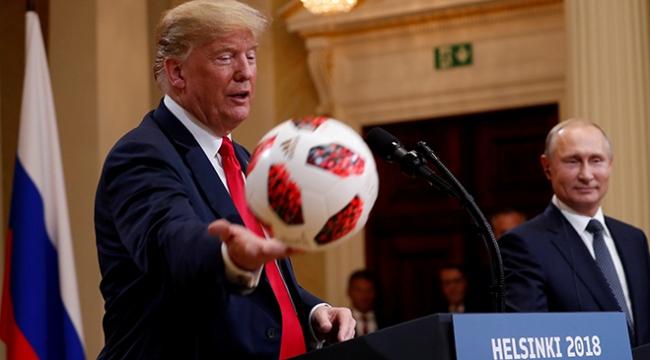 Putinden Trumpa esprili yanıt