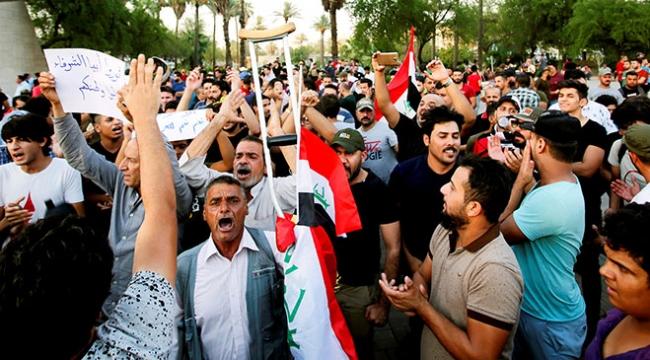 Irakta gösterilerin bilançosu artıyor: 5 ölü, 190 yaralı
