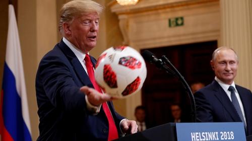 Putinden Trumpa esprili yanıt: Artık top sizde