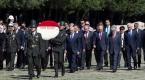 TBMM Başkanı Binali Yıldırım, Anıtkabiri ziyaret etti