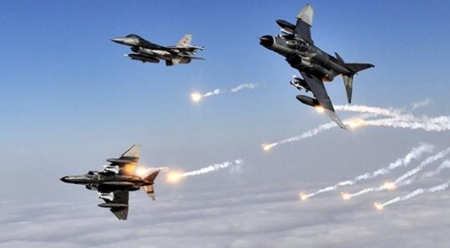 Irakın kuzeyinde terör hedefleri imha edildi