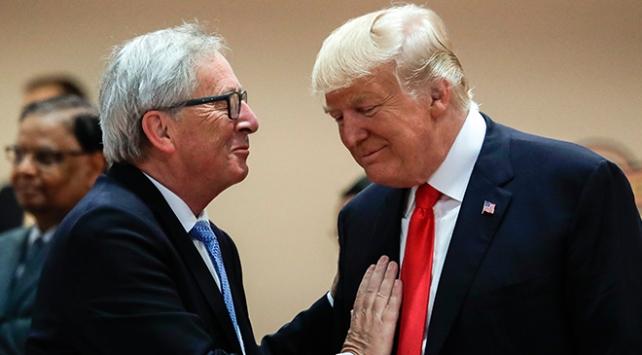 AB Komisyonu Başkanı Juncker, Trump ile ekonomiyi görüşecek