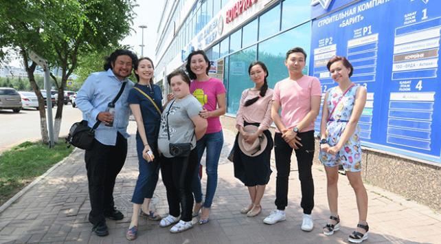 Kazakistanda engelli çocuklar eğitimle sosyalleşiyor
