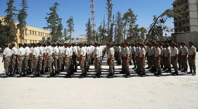 El Babda 450 polis daha göreve hazır