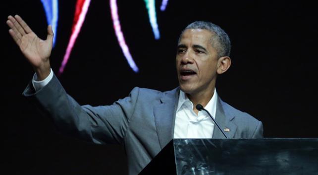 Eski ABD Başkanı Obamadan Trumpa gönderme