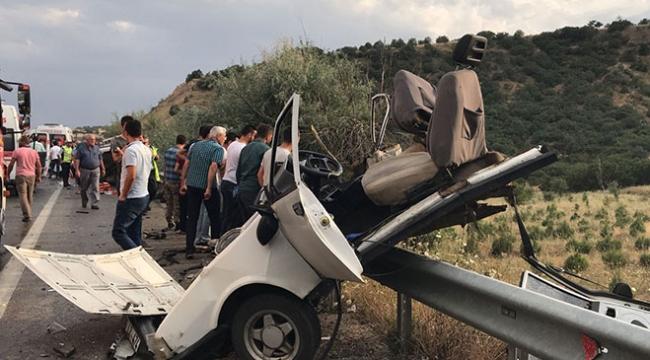 Ankarada trafik kazası: 2 ölü, 7 yaralı