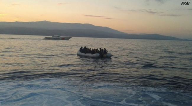Muğlada 13 kaçak göçmen yakalandı