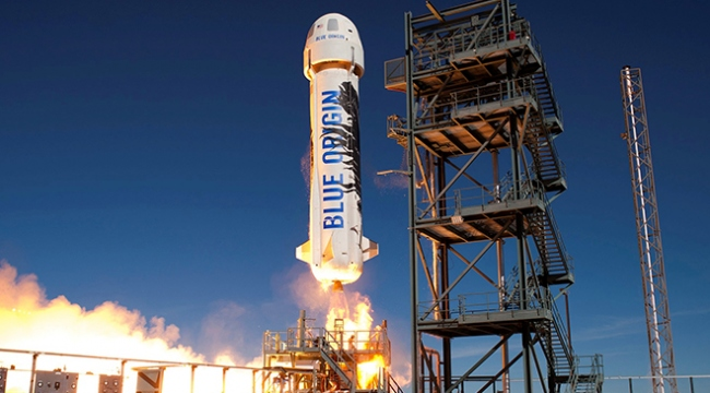 Blue Origindan uzay aracı denemesi