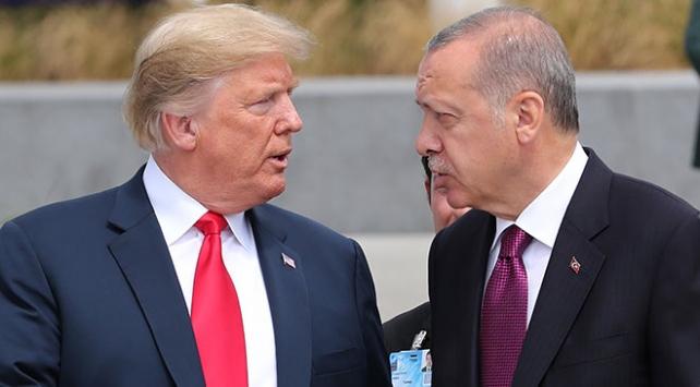 Trump'tan Cumhurbaşkanı Erdoğan'a rahip Brunson çağrısı