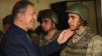 Milli Savunma Bakanı Hulusi Akar Dağbaşı Üs Bölgesinde
