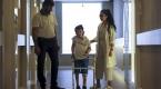 Suriyeli Reyyan, 20 ay sonra ilk adımını Türkiyede attı