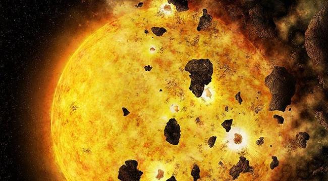 Bir yıldızın gezegeni yok etmesi ilk kez kaydedildi
