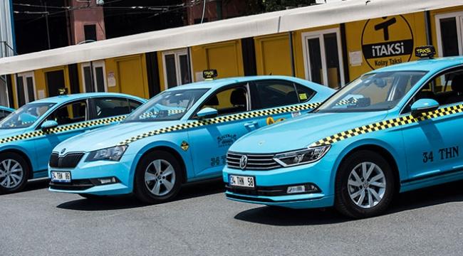 İstanbulun yeni taksileri hizmet vermeye başladı