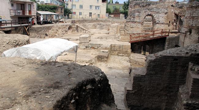 Sinopta zengin Romalıların dinlenme merkezi gün yüzüne çıkarılıyor