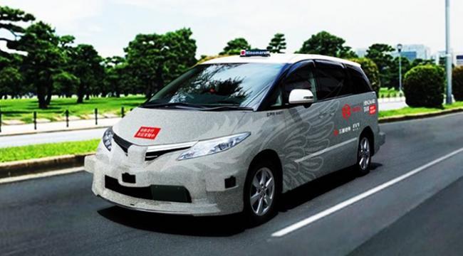 Sürücüsüz taksiler 2020de Tokyoda yola çıkacak