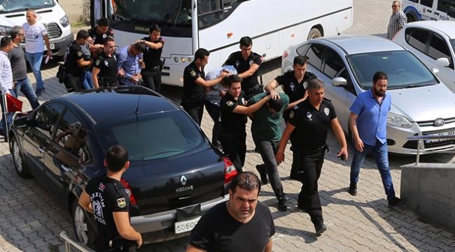 Hatayda suç örgütlerine operasyon: 5 tutuklama