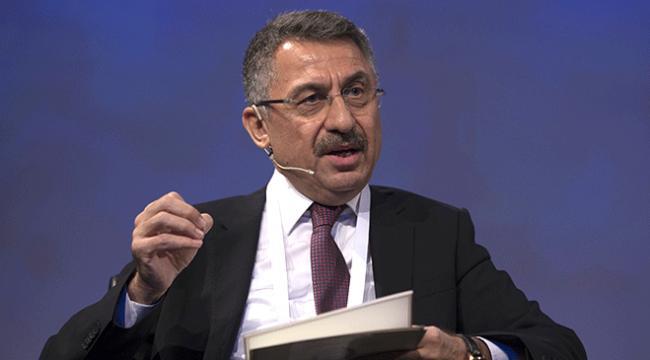 Cumhurbaşkanı Yardımcısı Fuat Oktay: İsrailin çıkardığı yasa kabul edilemez